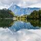 Lake Hechtsee, Tyrol, Austria